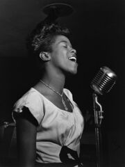 Sarah Vaughan - William P. Gottlieb - No. 1