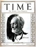 Time Magazine - first cover
