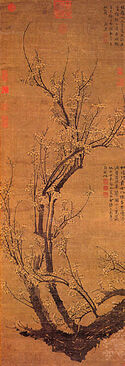 Wang Mian, Plum Blossoms in Early Spring.jpg