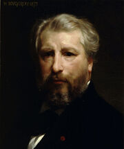 William-Adolphe Bouguereau (1825-1905) - Artist Portrait (1879)