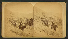 At timber line, Pike's Peak trail. Colo, by Martin, Alexander, d. 1929