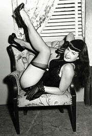 Bettie Page Irving Klaw 1950s