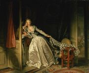 Jean-Honoré Fragonard - The Stolen Kiss