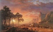 Albert Bierstadt Oregon Trail