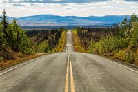 Autopista Taylor, Chicken, Alaska, Estados Unidos, 2017-08-28, DD 102