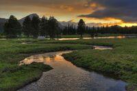 Tuolumne Meadows Sunset
