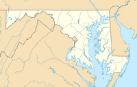 USA Maryland location map.png