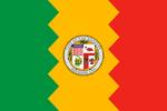 Flag of Los Angeles, California