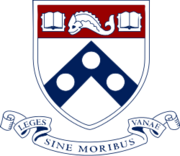 UPenn shield with banner