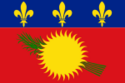 Flag of Guadeloupe (local) variant
