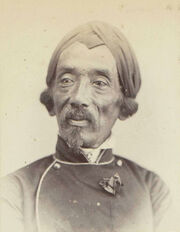 Portrait of Raden Saleh, 1863 - 1866 - Rijksmuseum