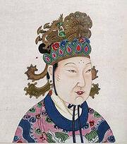 A Tang Dynasty Empress Wu Zetian