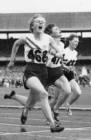 Betty Cuthbert, Marlene Mathews, Heather Armitage, 1956 Olympics