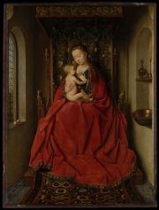 Jan van Eyck - Lucca Madonna - Google Art Project