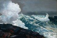 Northeaster by Winslow Homer 1895