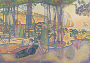 Henri-Edmond Cross - The Evening Air - Google Art Project