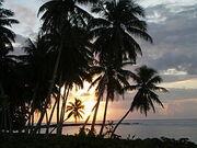 Falealupo sunset, Samoa