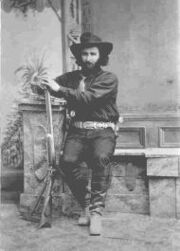 Ed Schieffelin in Tombstone year 1880