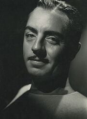 William Powell by Hurrell