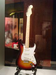 Buddy Holly's Fender Stratocaster, Buddy Holly Center, Lubbock, TX