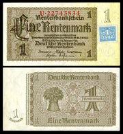 GDR-1-Soviet Germany-1 Deutsche Mark (1948)
