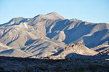 Bare mountain, nevada