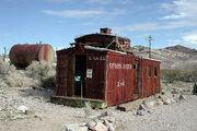 Rhyolite caboose.2009