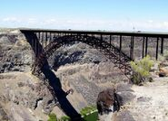 U.S. Highway 93 bridge over Snake River Canyon near Twin Falls, Idaho
