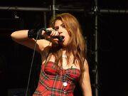 Gabriella Cilmi at the Godiva Festival