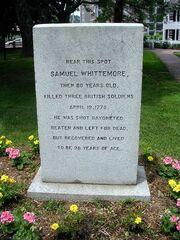 Samuel Whittemore Monument