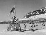 Kolmen valtakunnan rajapyykki 27.4.1945