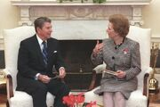 Reagan et Thatcher