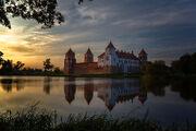 Замок Ильиничей и Радзивиллов