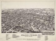 Old map-Paris-1885