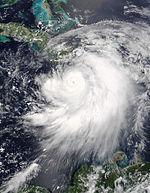 Hurricane Dennis on July 7 2005 1550 UTC