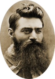 Ned Kelly in 1880