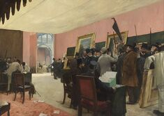 Henri Gervex - A Session of the Painting Jury - Google Art Project