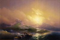 AHovhannes Aivazovsky - The Ninth Wave - Google Art Project