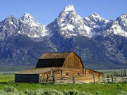 Barns grand tetons