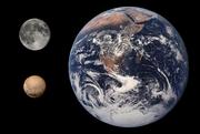 Pluto Earth Moon Comparison