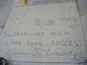 Grauman's Chinese Theatre, norma talmadge
