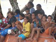 Children of Niutao Island