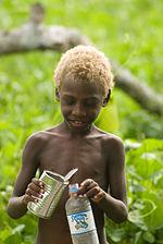 Vanuatu blonde