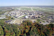 Aerial View of Glenn Research Center at Lewis Field - GPN-2000-002008