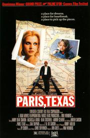 Paris, Texas (1984 film poster)