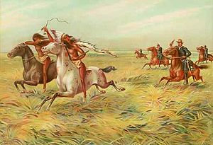 Cavalry and Indians