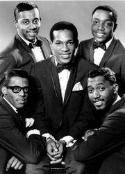 Classic 5 Temptations circa 1965