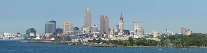 Cleveland Skyline Aug 2006