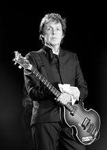 Paul McCartney black and white 2010
