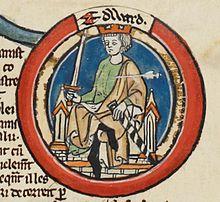 Edward the Martyr - MS Royal 14 B VI